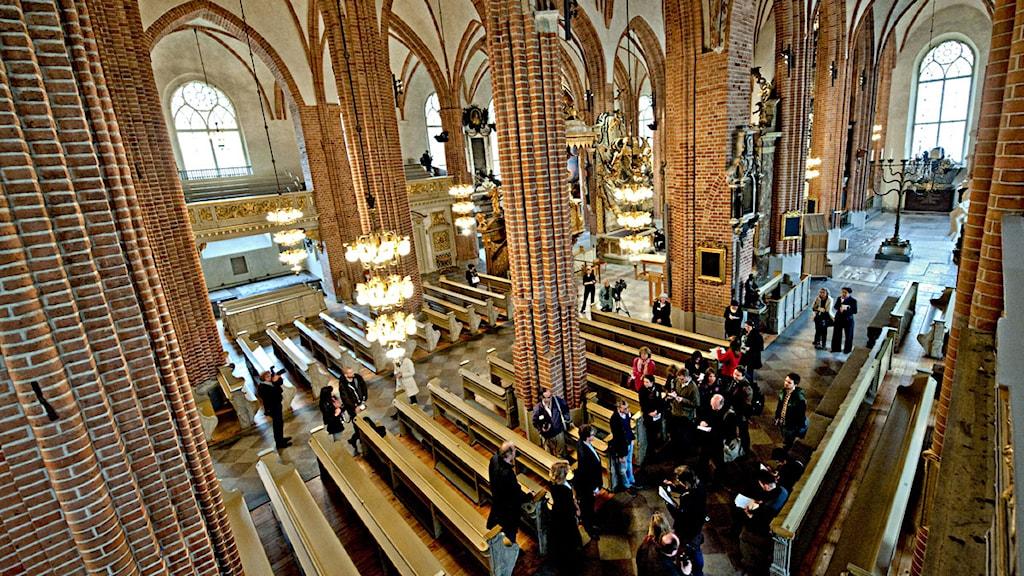 Lantligt Bröllop Stockholm ~ Bildskärmar i Storkyrkan under bröllop P4 Stockholm Sveriges Radio
