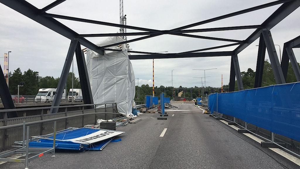 södertäljebron olycka