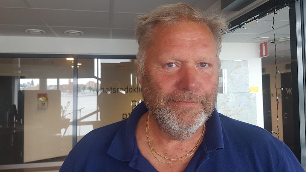 Peter Olsson från Sveriges fiskares producentorganisation.