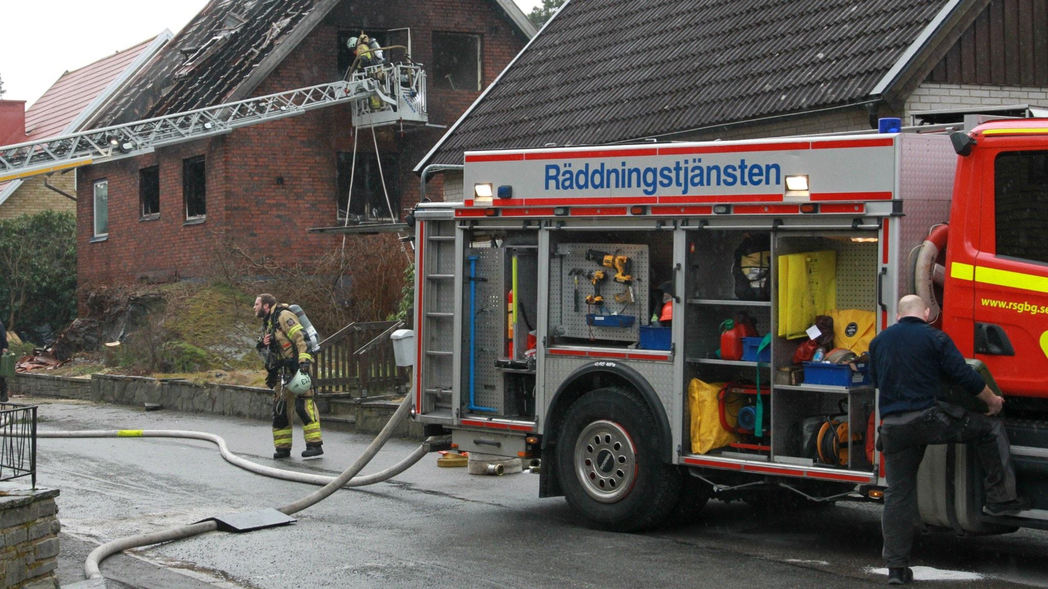 Twitter ledsagare oskyddad nära Göteborg
