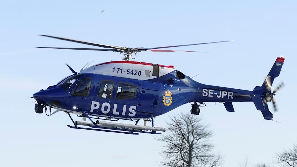 polishelikopter göteborg