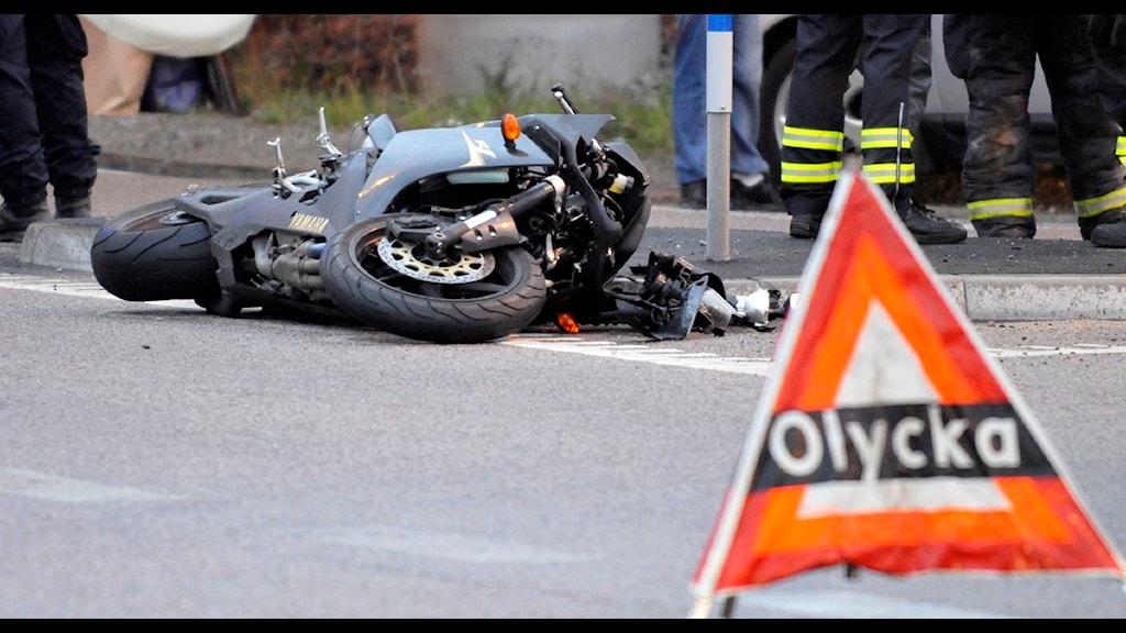 Bildresultat för vår och mc vägar farliga