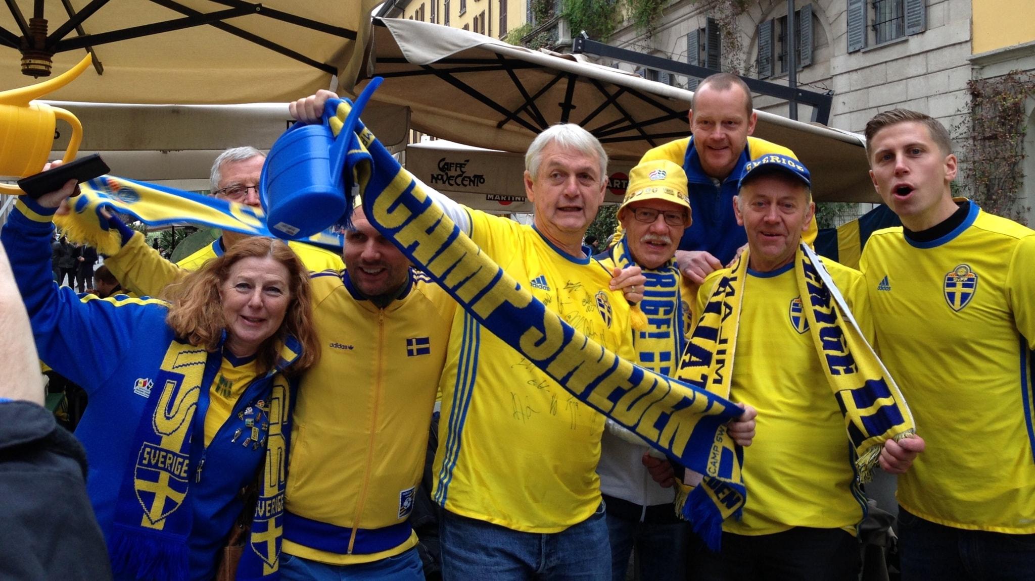 Joakim såg matchen på plats i Milano och vi träffar julklappshjältar i Moheda