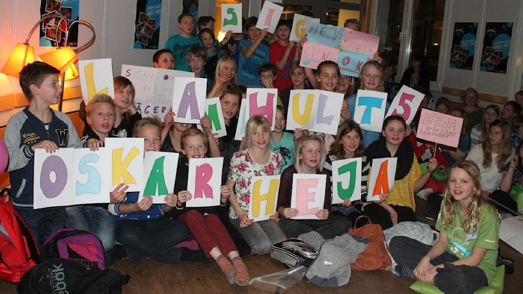 Lammhults skola 5 A vann tredje kvartsfinalen av Vi i Femman P4 Kronoberg Sveriges Radio