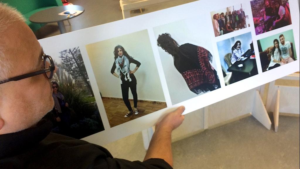 Mobiltelefonbilder från människor på flykt blir utställning Nordegren& Epstein i P1