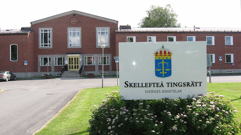 Skellefteå court. Photo: SR.