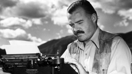 Del 1. Den gamle och havet av Ernest Hemingway.