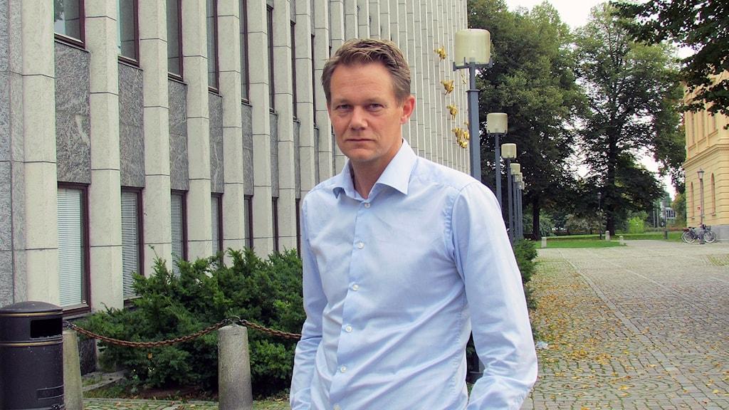Johan Ahlström, riskingenjör i Västerås stad