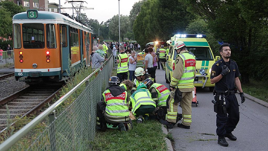 spårvagnsolycka