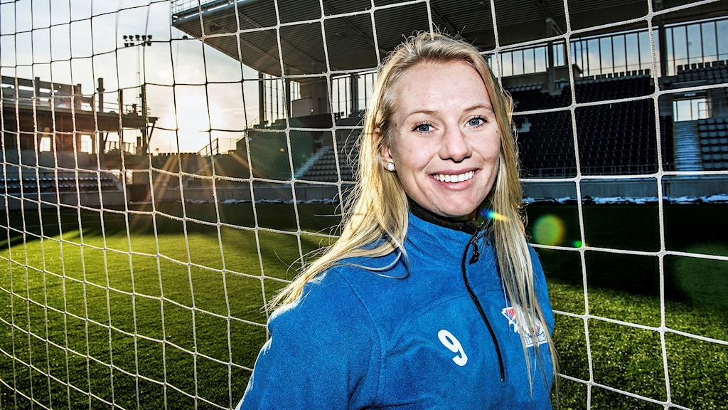 Stina Blackstenius i Linköpings FC.