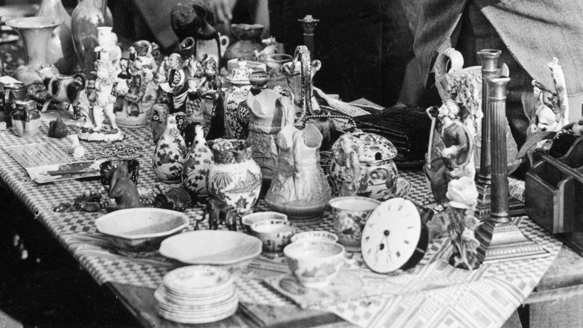 I antikvitetsaffären 1947