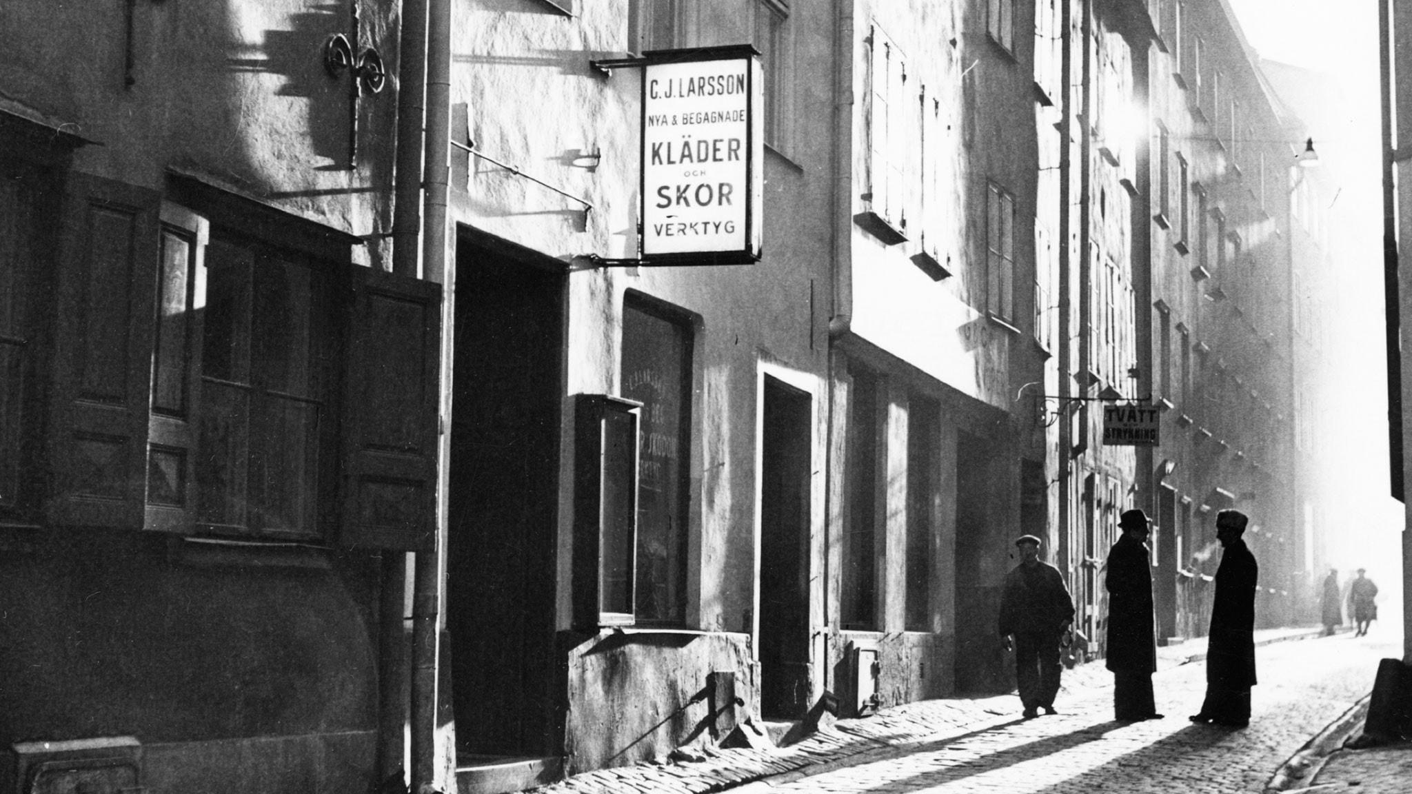 Sång i gamla stan 1938