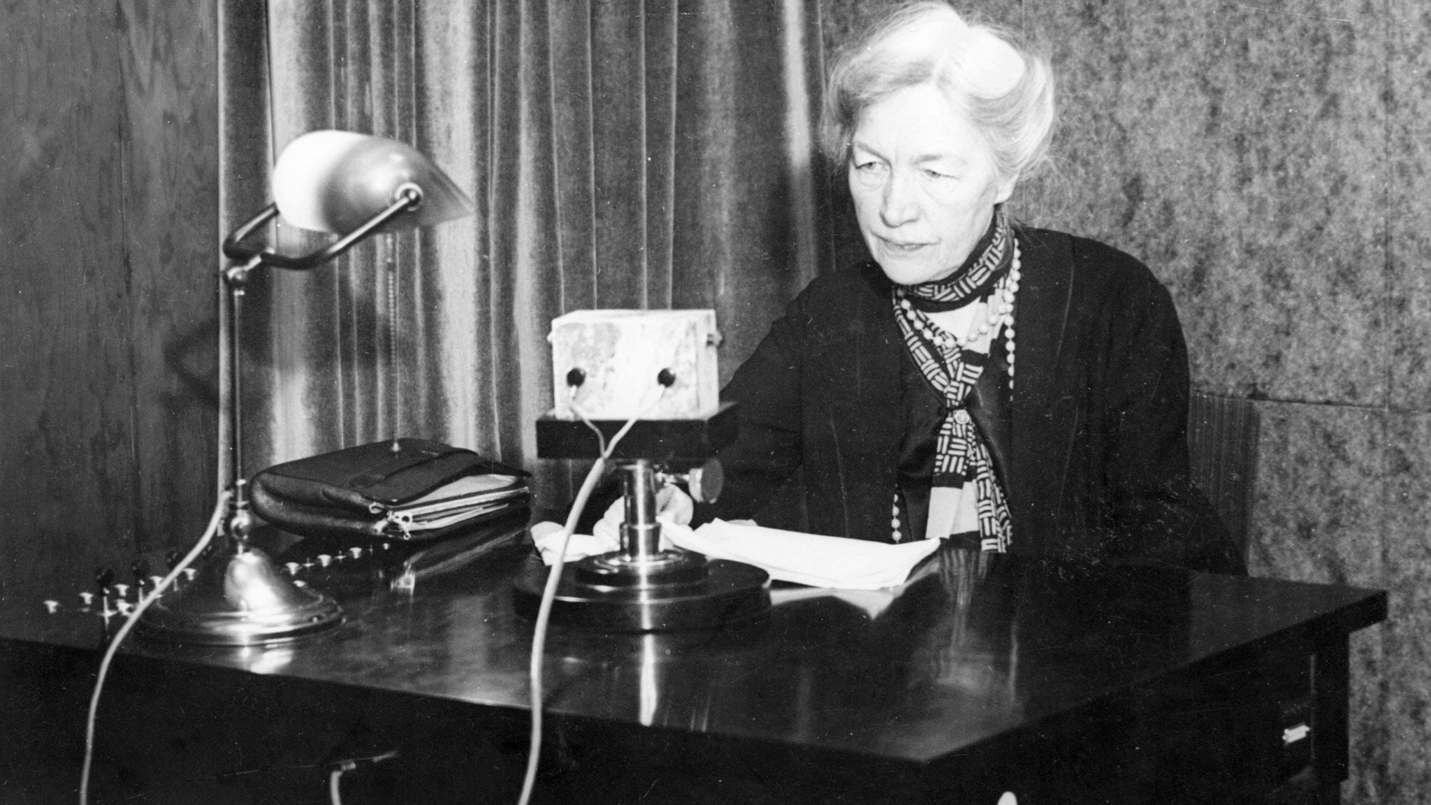 Kerstin Hesselgren - en av de första riksdagskvinnorna