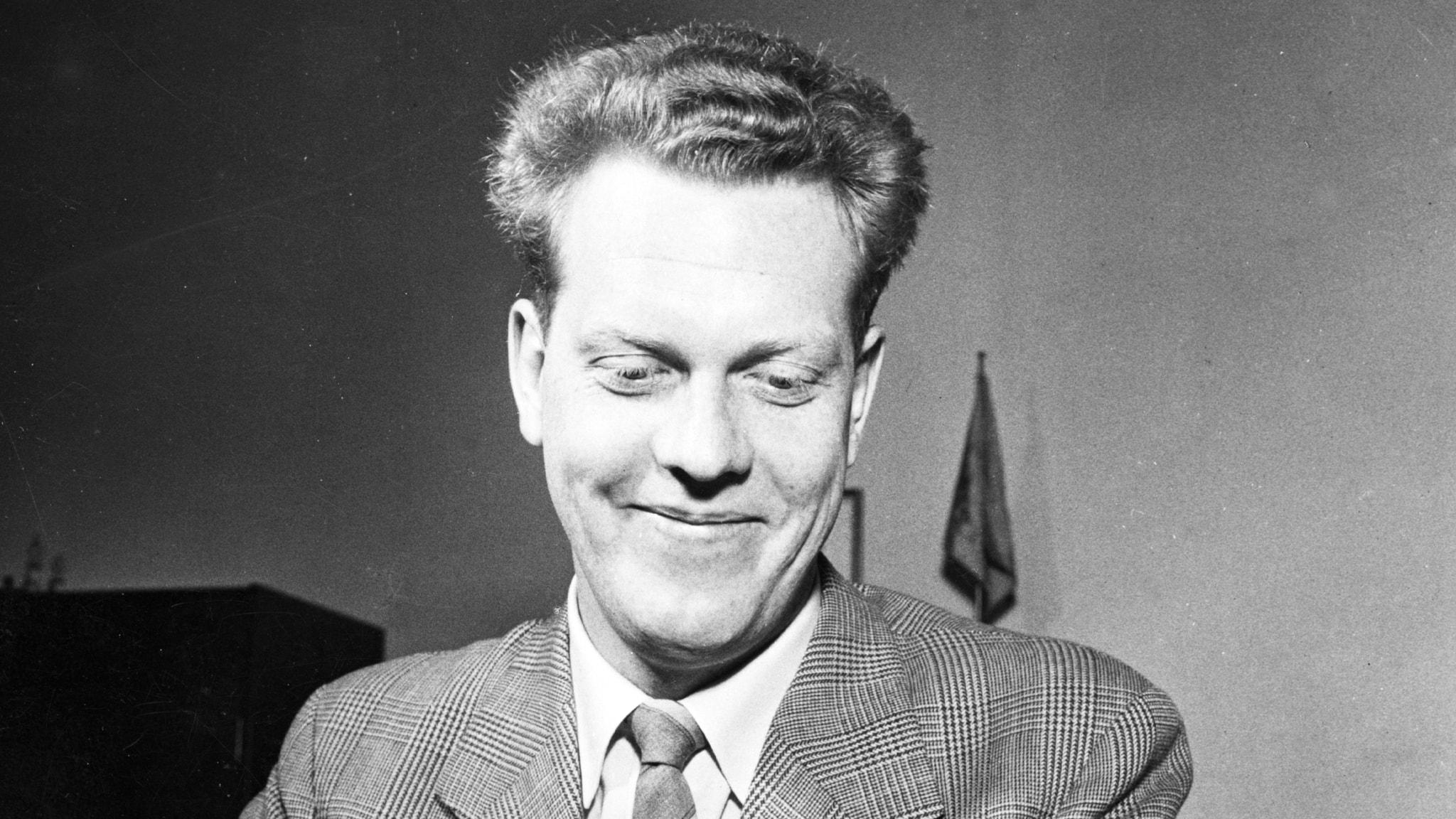 Tage Danielsson pratar strunt 1962