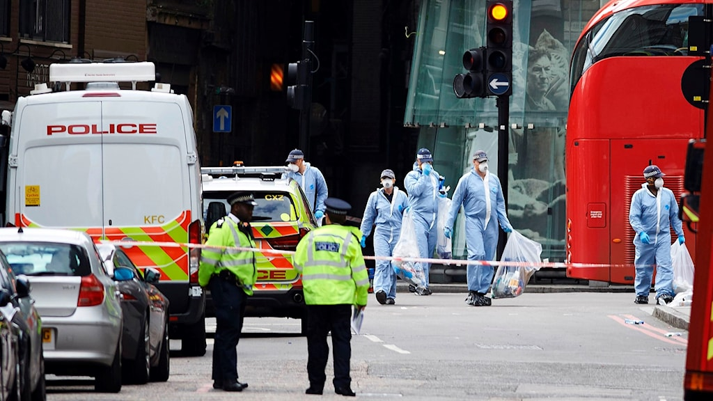 Terrorattack i London.