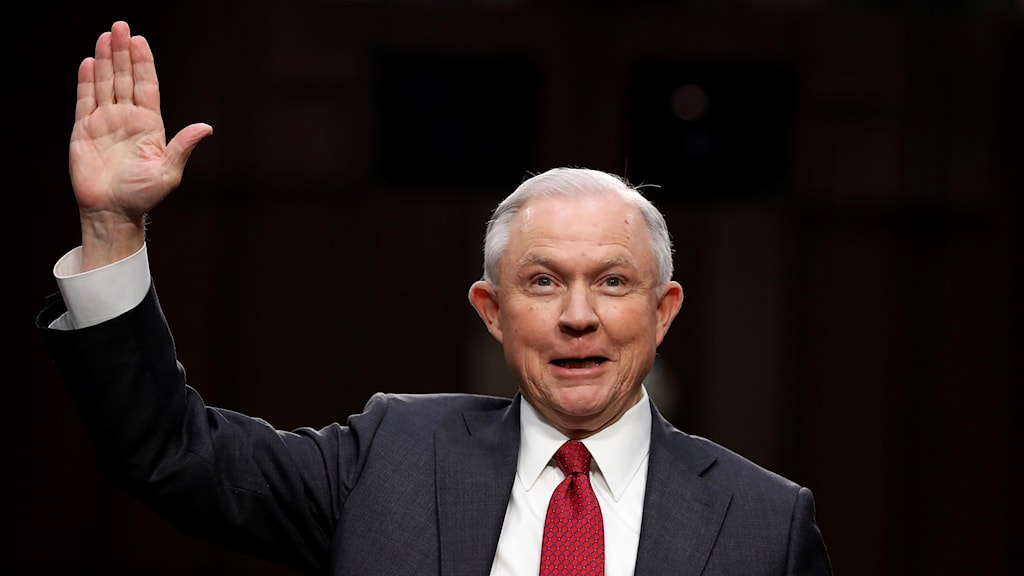 USA:s justitieminister Jeff Sessions.