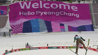 2017 Backhopparbacken i Pyeongchang.