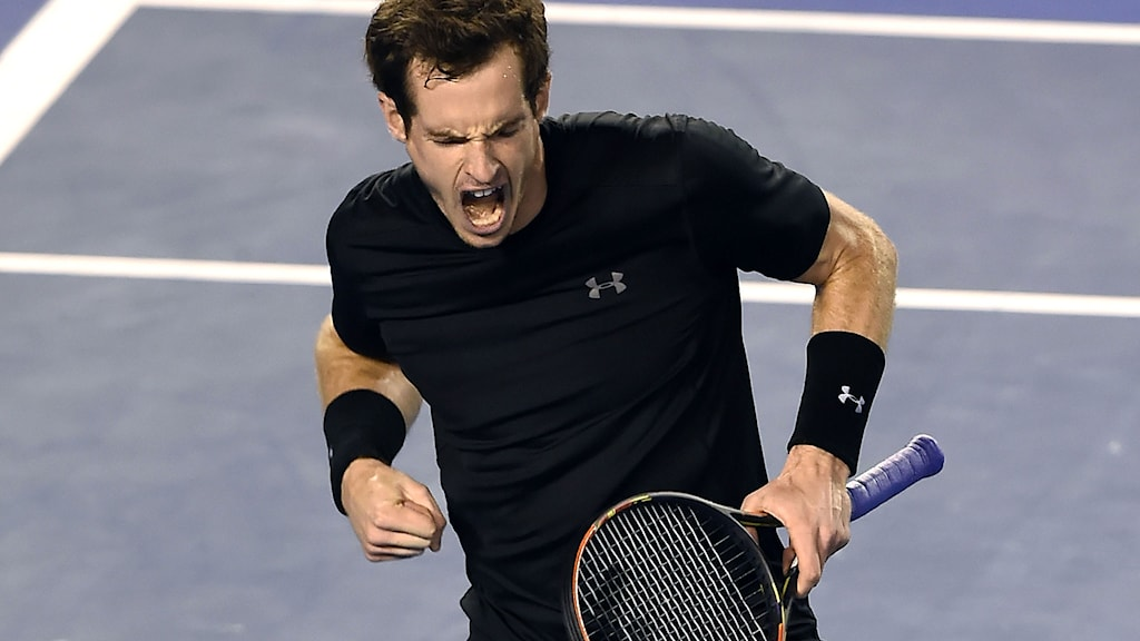 Andy Murray. Foto: Andy Brownbill/TT.