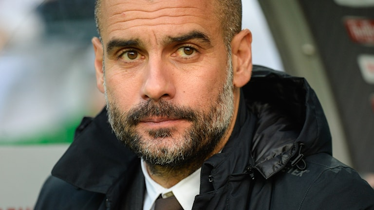 Pep Guardiola. Foto: AFP/TT