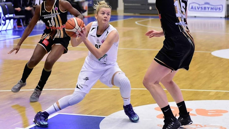 Luleå baskets Jelena Antic.