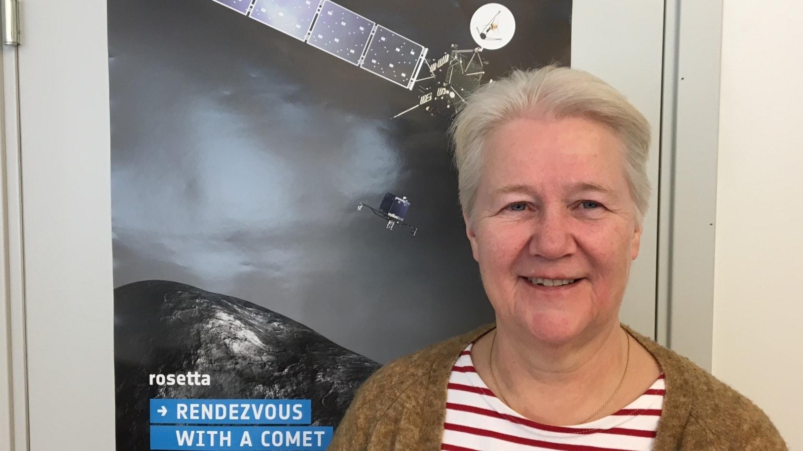 Uusi suomalainen avaruudessa – Asteroidi nimettiin uumajalaisprofessorin muka