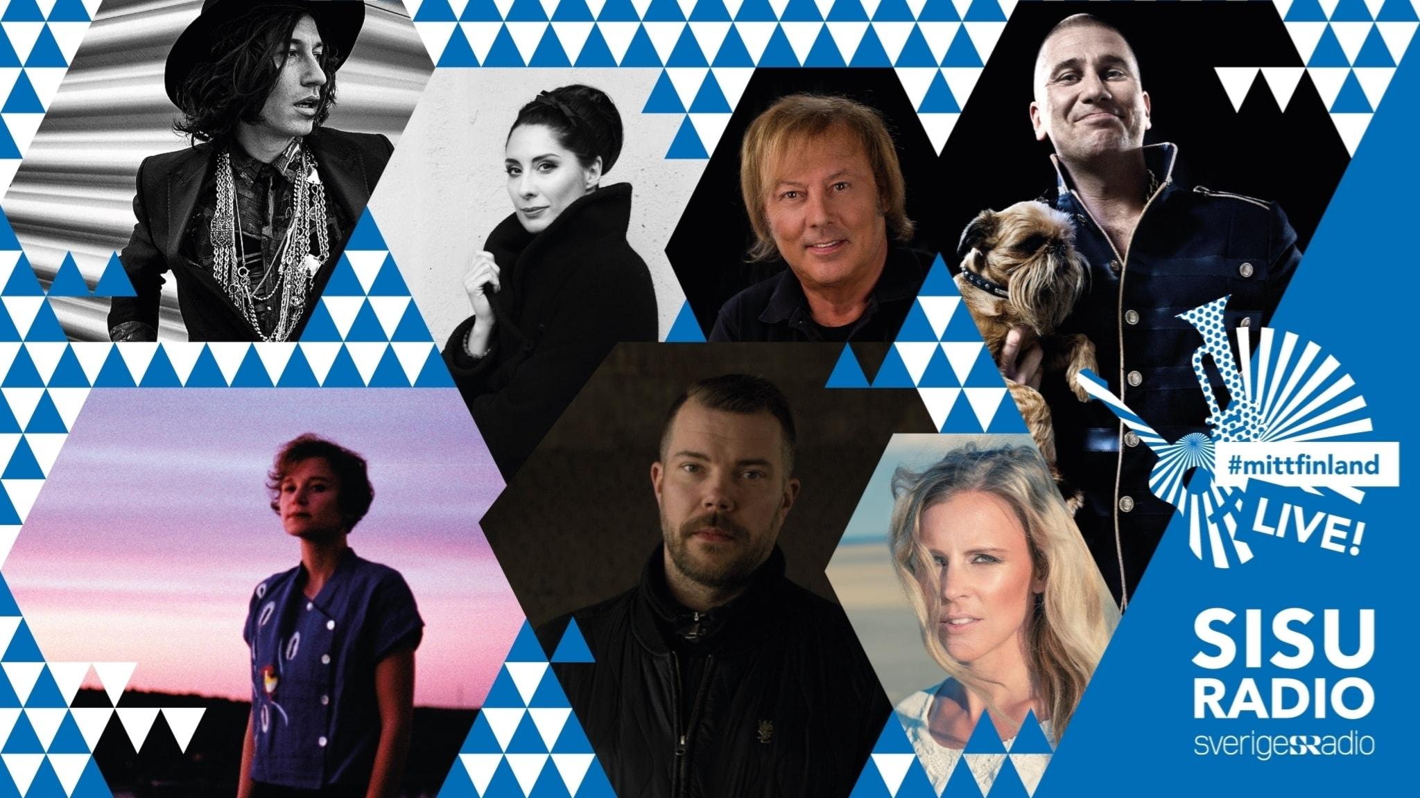 #Mittfinland live – en musikalisk kärleksförklaring till Finland 100 år