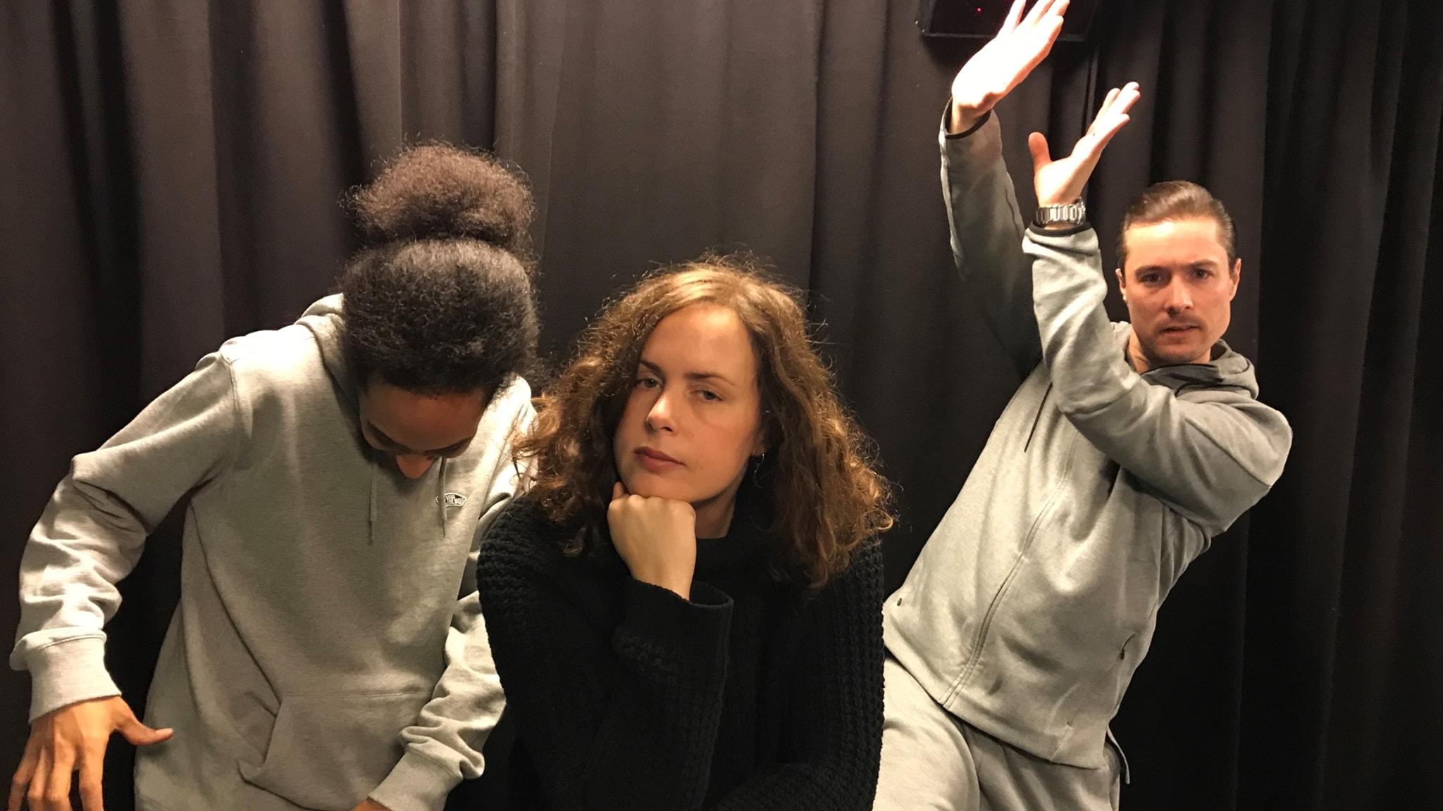 Stelkramp, Medium och häng med Sandra Ilar