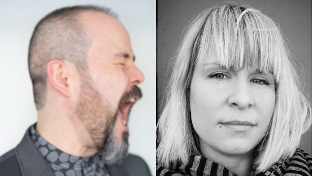 Journalist Hector Barajas (left) is anti-lagom. Linnea Dunne (right) loves it.