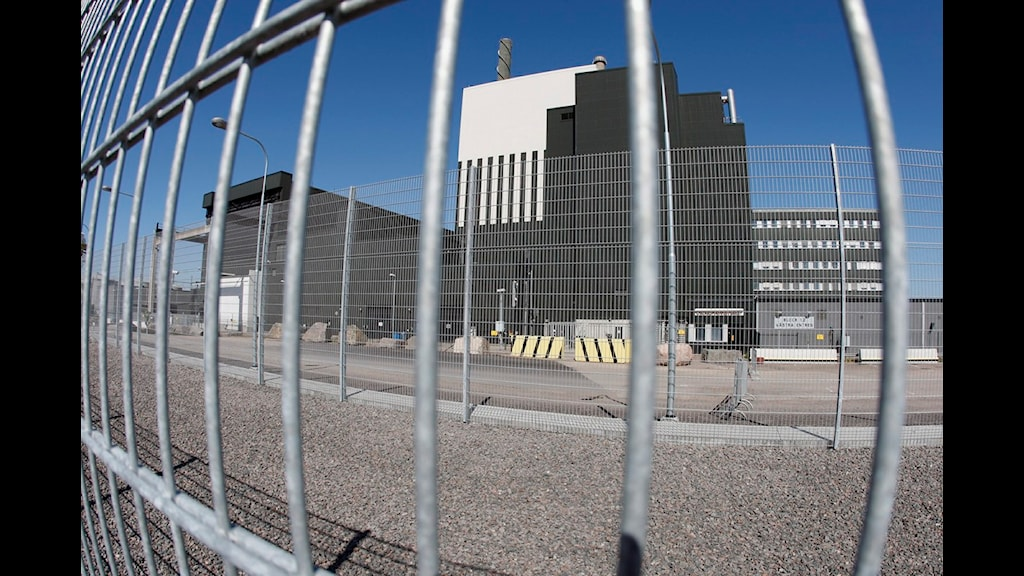 The Oskarshamn nuclear power station, Photo: Mikael Fritzon/Scanpix