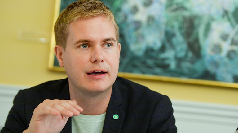 Education Minister Gustav Fridolin. Photo: Vilhelm Stokstad/TT