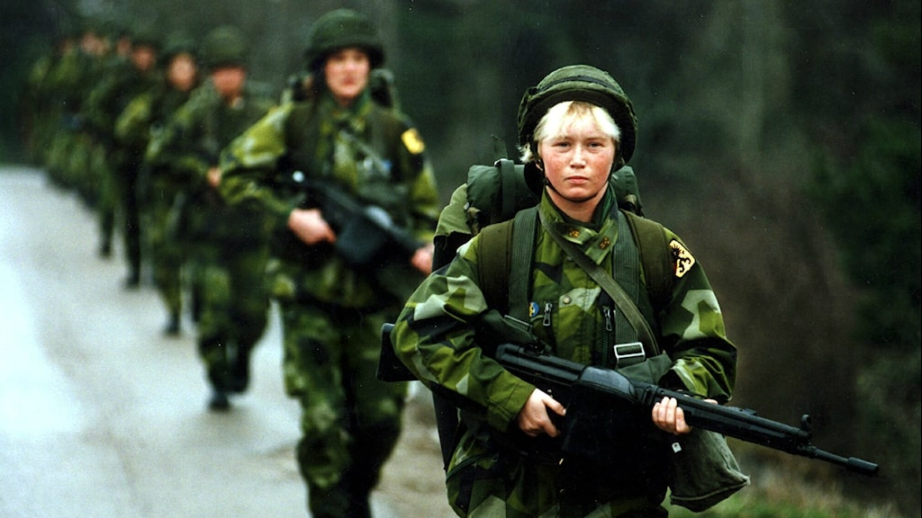 Is the Swedish army turning feminist? Radio Sweden Sveriges Radio