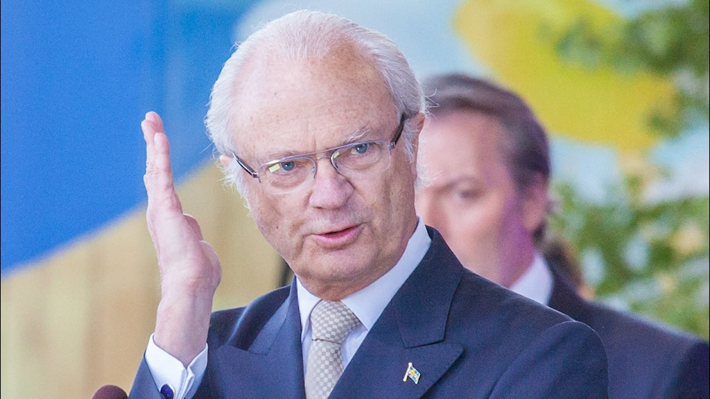 King Carl XVI Gustaf of Sweden. Photo: By Bengt Nyman (Flickr: IMG_2591-1) [CC BY 2.0 (http://creativecommons.org/licenses/by/2.0)], via Wikimedia Commons