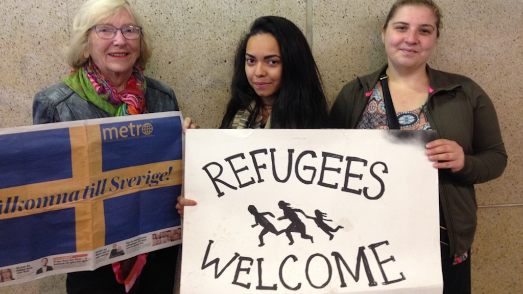 Image result for refugees in sweden
