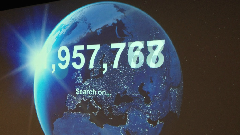 Over 58 million searches on google in 2015