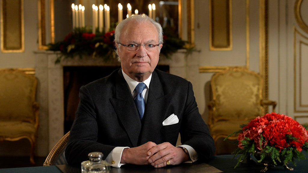The King's Christmas speech 2015, Photo: Jonas Ekströmer / TT