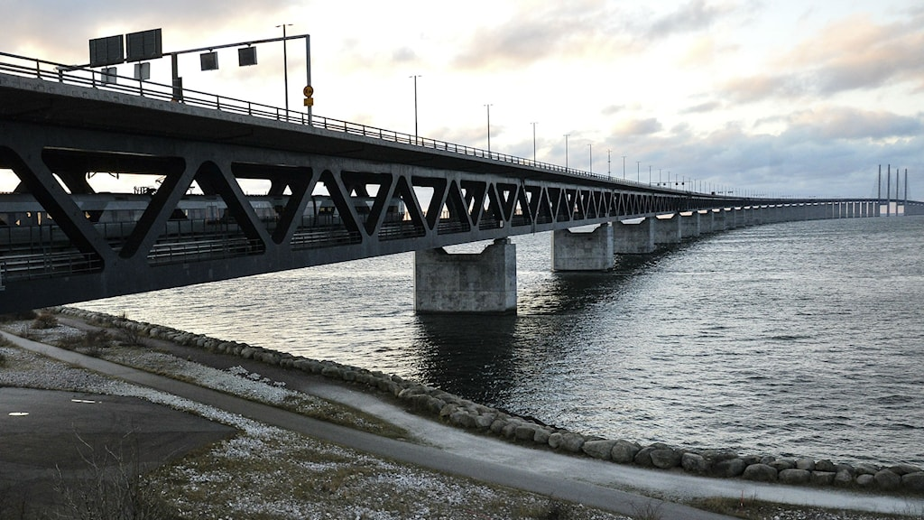 The Öresunds bridge, which serves as the link between Sweden and Denmark. Photo: Johan Nilsson / TT.