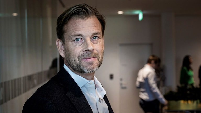 Swedbank's former CEO Michael Wolf. Photo: Anders Ahlgren / SvD / TT.