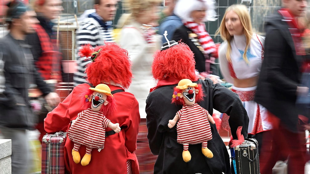 Clowns have taken on a darker role recently. Photo:Martin Meissner/TT