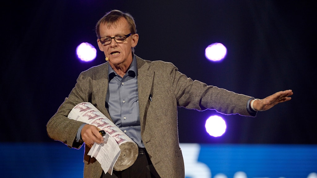 The late Hans Rosling.