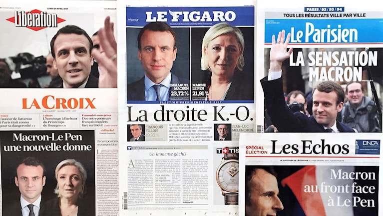 Today's headlines in the French press.