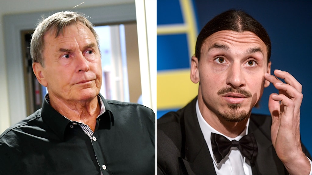 Ulf Karlsson and Zlatan Ibrahimović