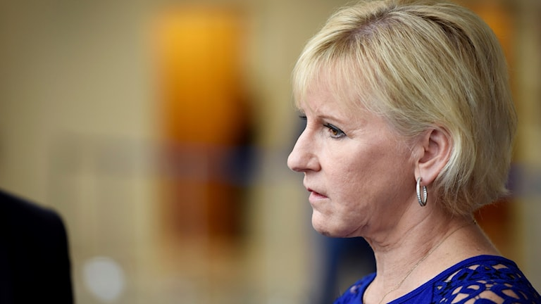 Profile shot of Margot Wallström
