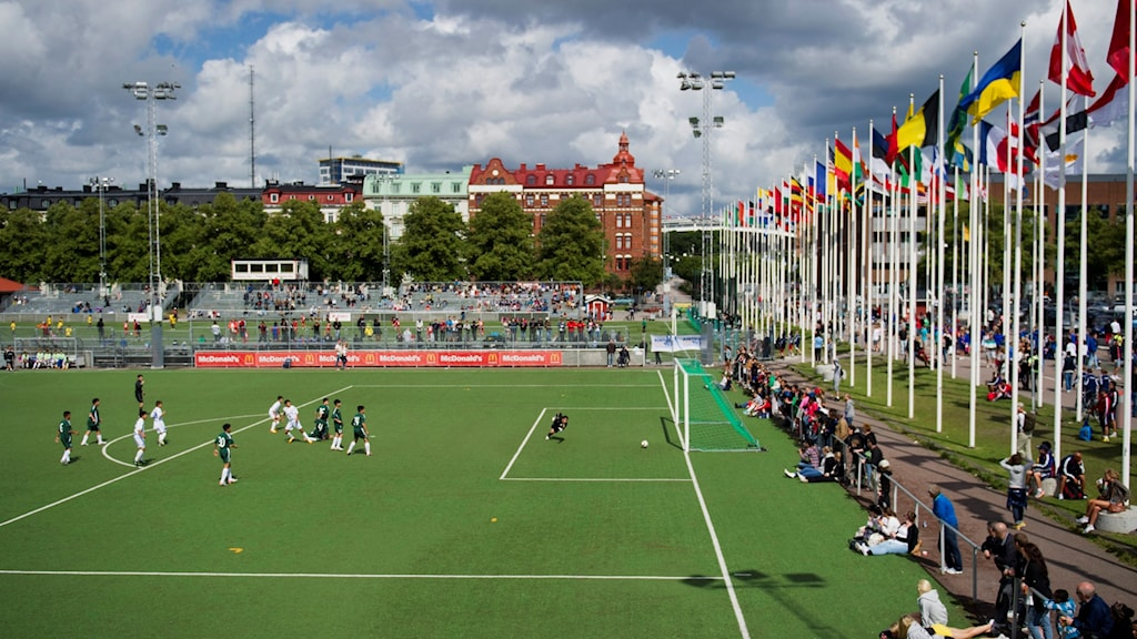 The Gothia Cup is the world's largest international youth football tournament. Photo: Björn Larsson Rosvall/TT