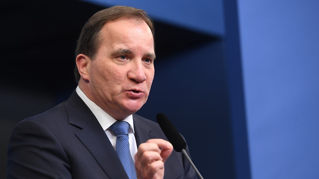 Stefan Löfven gave his reaction to the official start of the UK's divorce from the EU