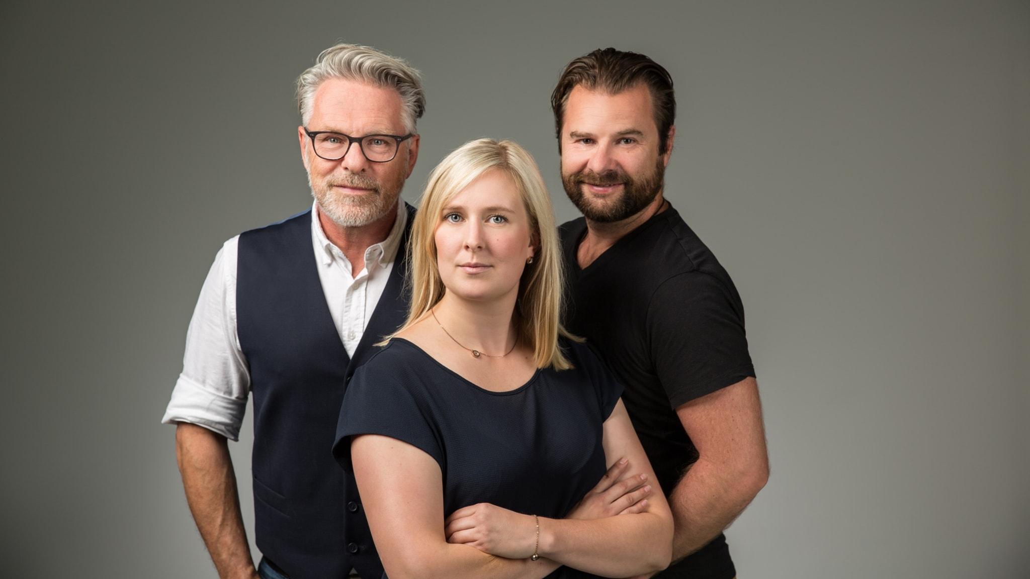 Med Martina Svensson och Lars-Peter Hielle