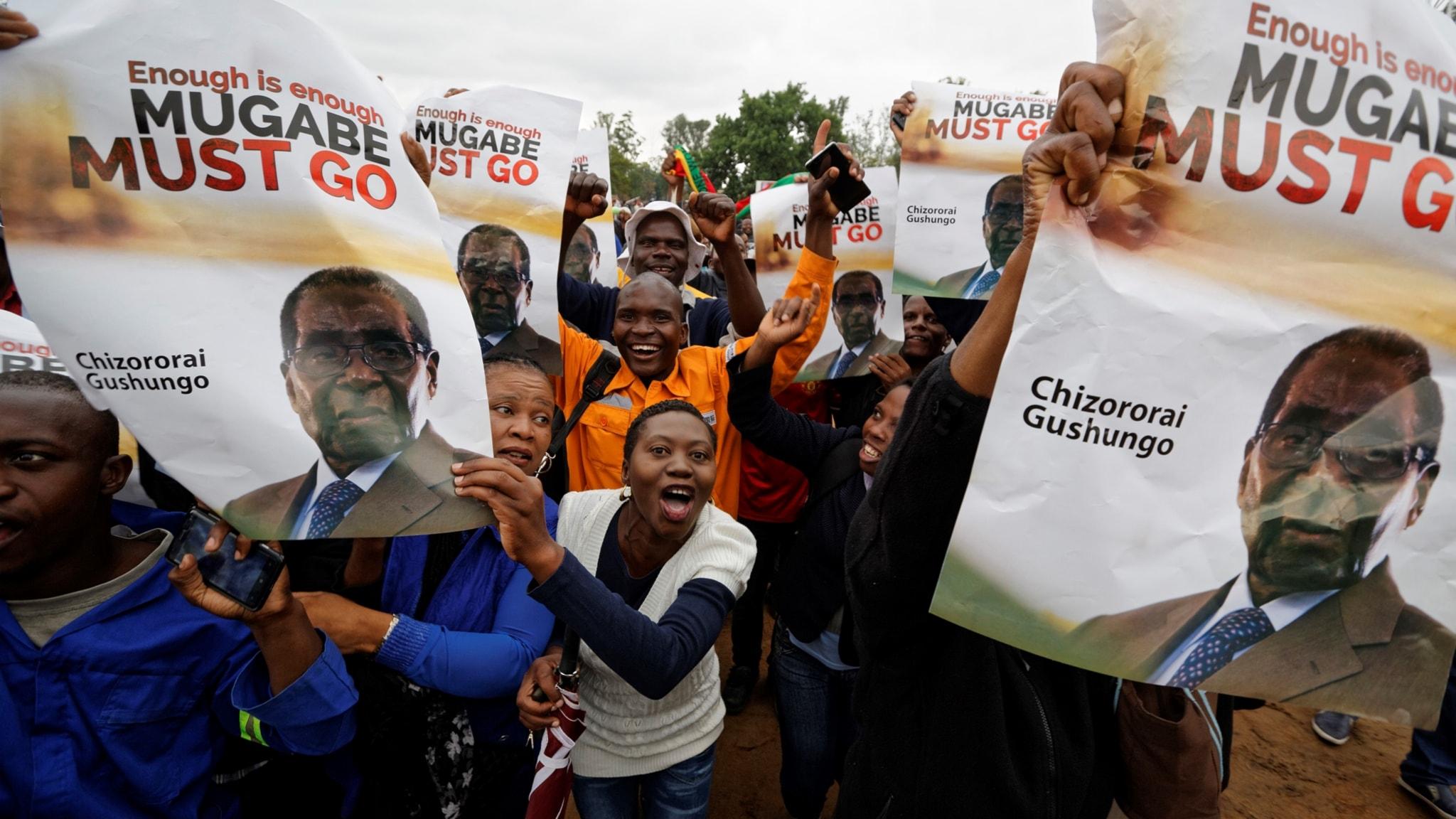 Mugabe uppges sparkad av partiet - vad händer i Zimbabwe nu?