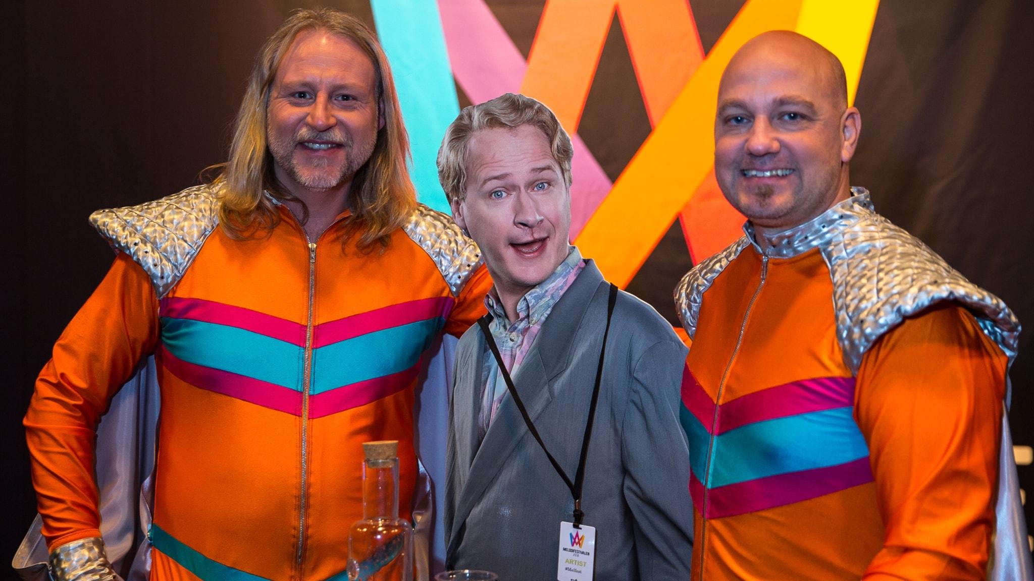 Stjärnorna i Melodifestivalen 2017