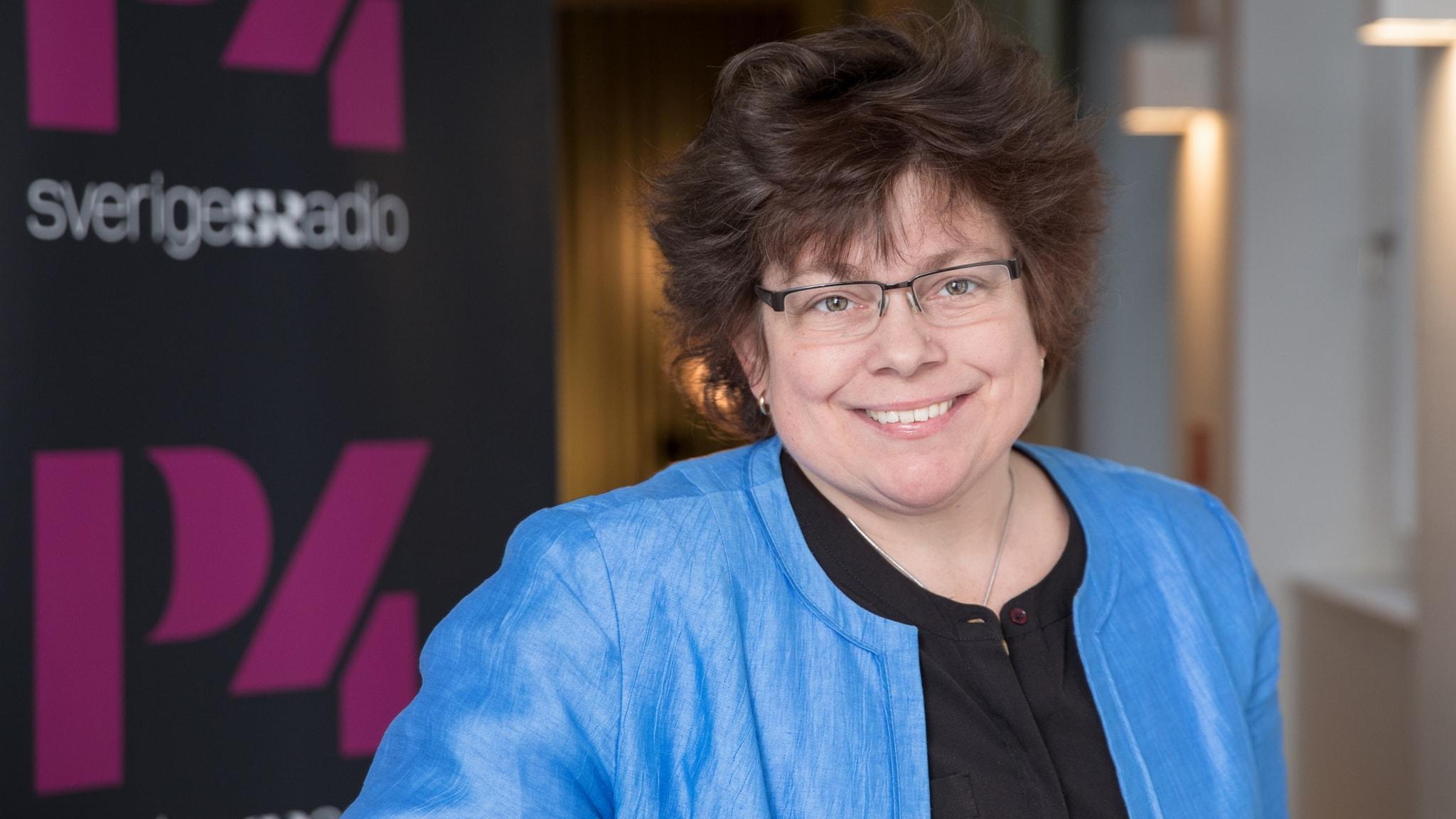 Kristina Appelqvist har diskbråcket att tacka för författarkarriären