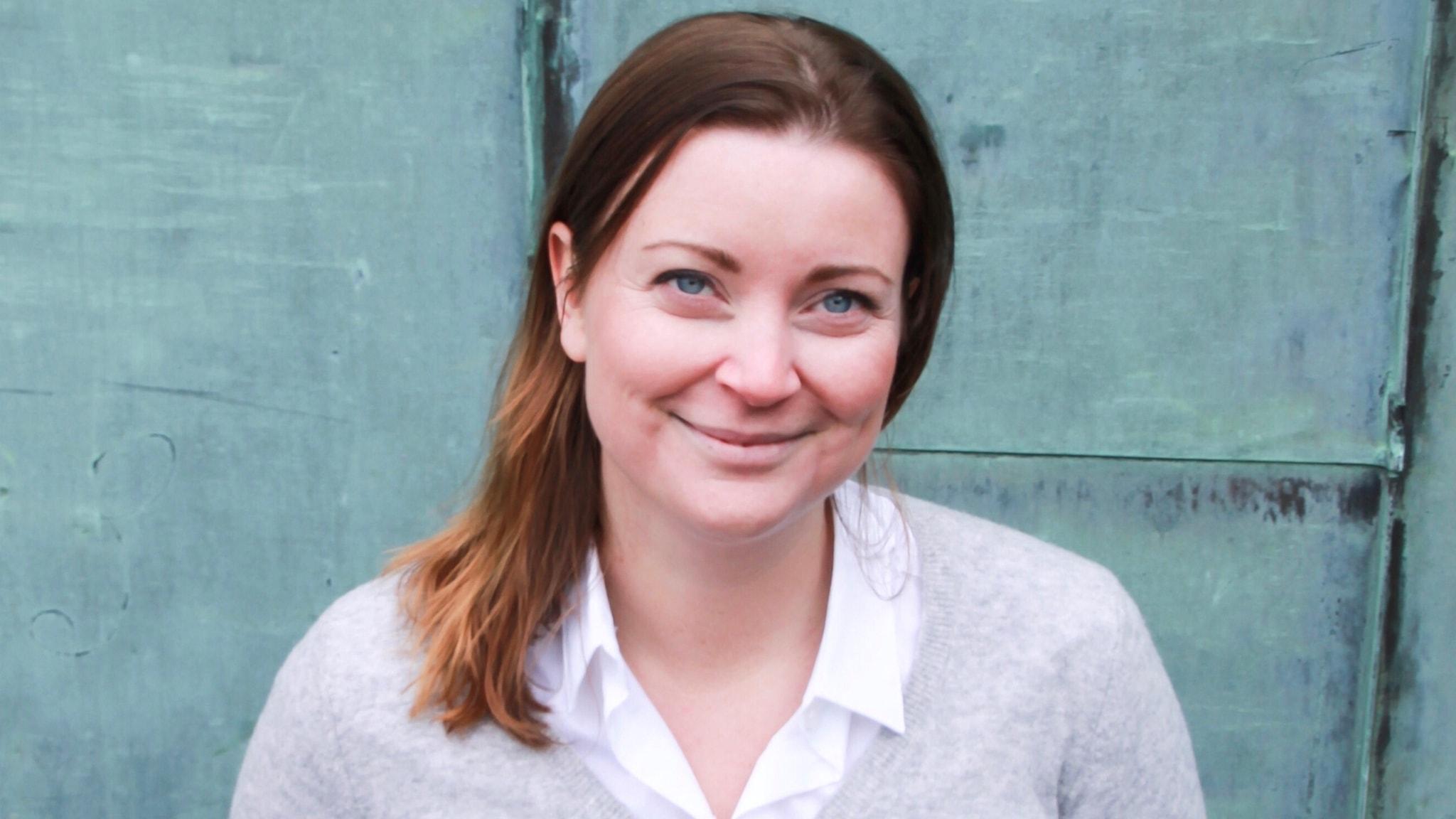 Med Evelina Myrbäck
