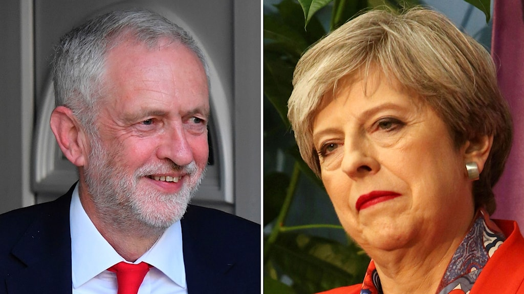 Jeremy Corbyn, Theresa May